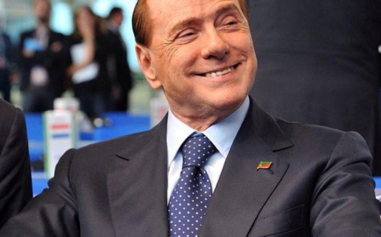 Oi erribat Berlusconi