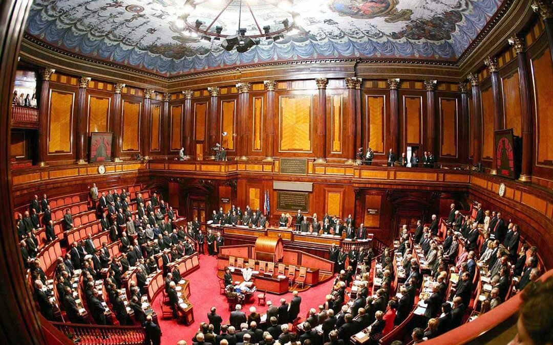Su parlamentu italianu at votau sa fiducia a su Guvernu