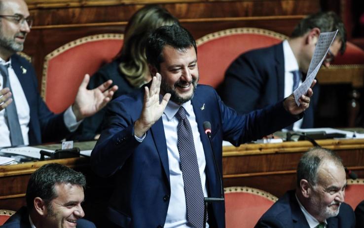In Palazzo Madama si votat po Salvini