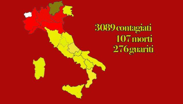 Is numurus de su Coronavirus in Italia