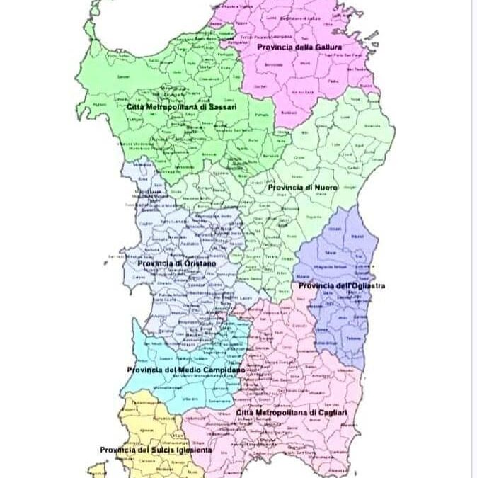 Cambiant is provincias sardas